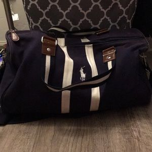 Polo Ralph Lauren Polo duffel bag.